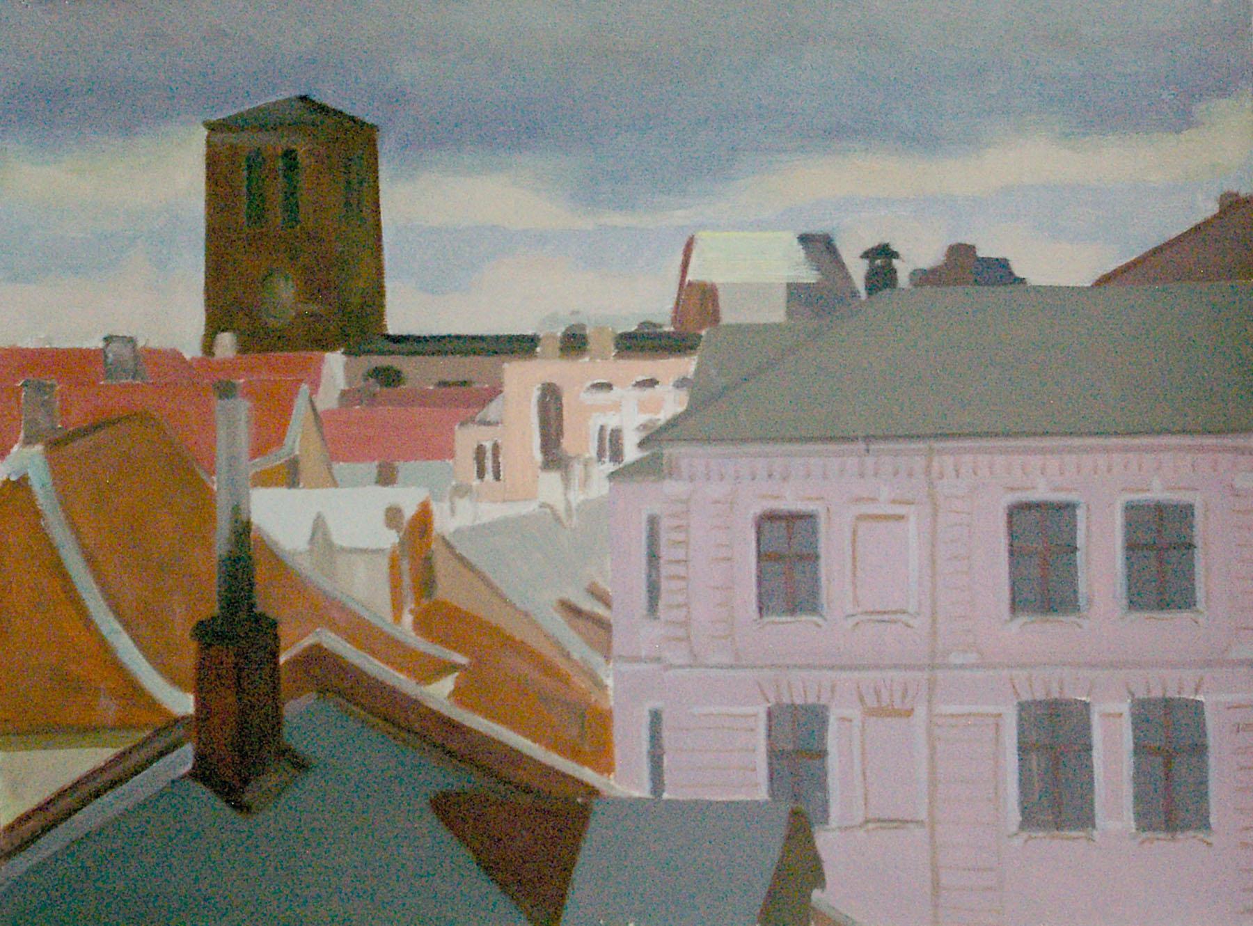 Vaade-Tartu-vanalinnale_1995